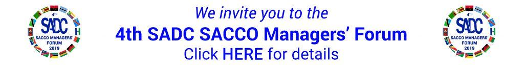 4th SADC SACCO Managers Forum 2019
